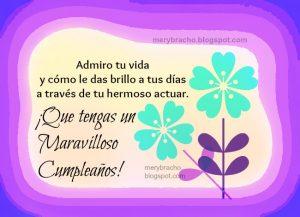imagenes de cumpleaños cristianas para mujeres con flores