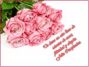 imagenes de cumpleaños cristianas para mujeres con rosas