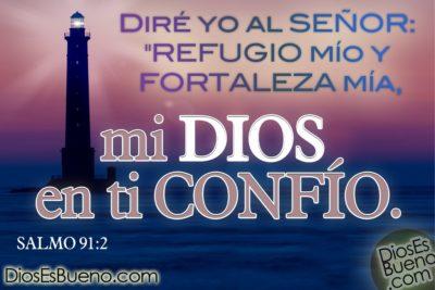 Imágenes con frases de confianza en Dios