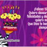 Lindas Tarjetas Cristianas De Cumpleaños Para Quinceañeras