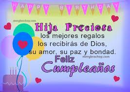 tarjetas de felicitaciones cristianas para cumpleaños de una hija