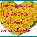 Imágenes de soy evangélica con frases cristianas bonitas