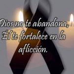 Imágenes Cristianas Con Frases De Luto  Duelo Y Condolencias