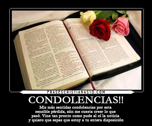 Sentidas Condolencia Palabras De Condolencias Cristianas Www