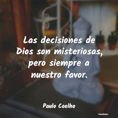 Dios no se equivoca con sus decisiones