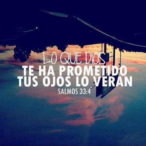 Podrás ver lo que Dios te prometió