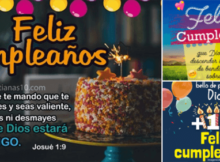 feliz cumpleaños con mensajes de bendiciones cri